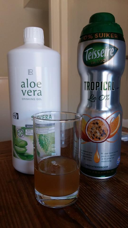 Aloë Vera drinking gel en siroop