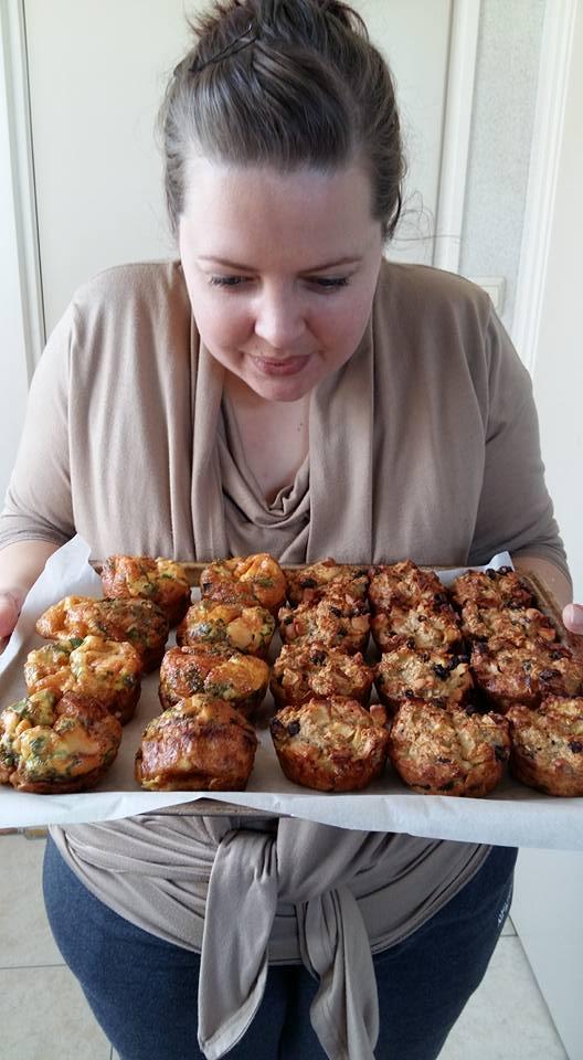 Muffins gebakken