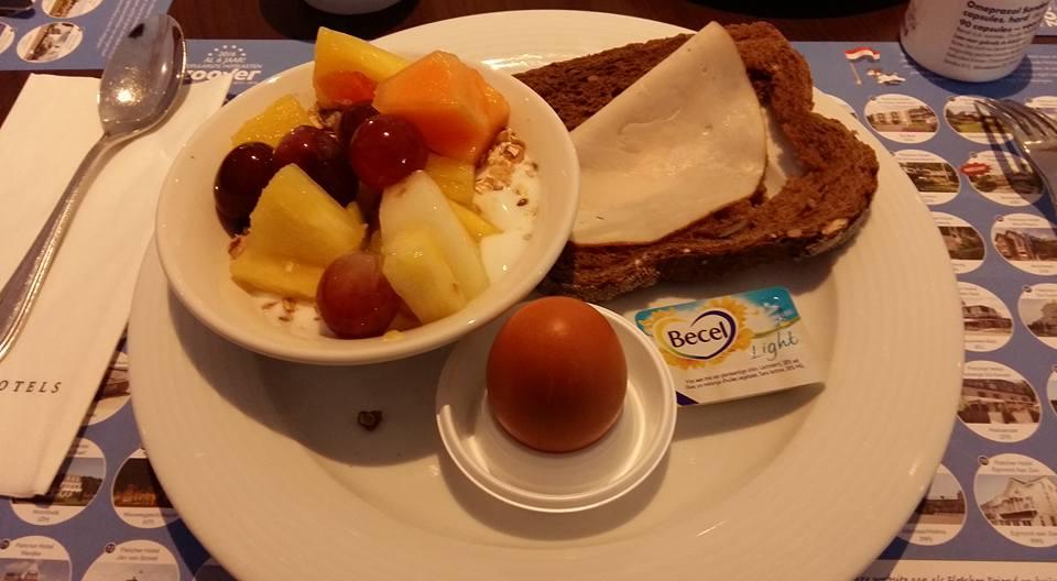 Ontbijt in het hotel